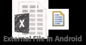 external file